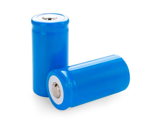 Two lithium-ion batteries