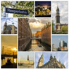 Collage Hamburg