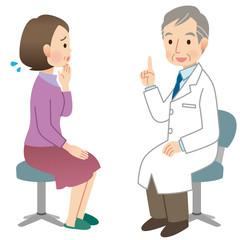 医療 診察 女性 心配