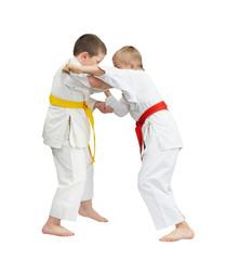 Capture of judogi are training sportsmen