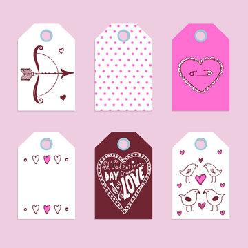 Sketch Valentine's tags