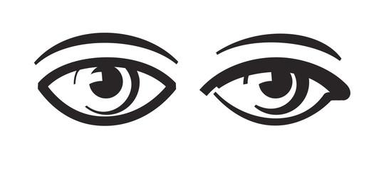 vector black eye