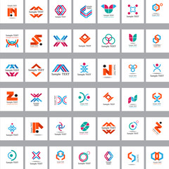 Unusual Icons Set - Isolated On Background - Vector Illustration, Graphic Design Editable For Your Design