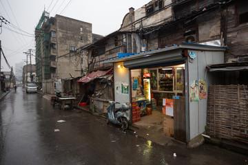 Shanghai Xiaonanmen old town under redevelopment