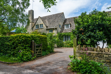 Old house in Burford, England