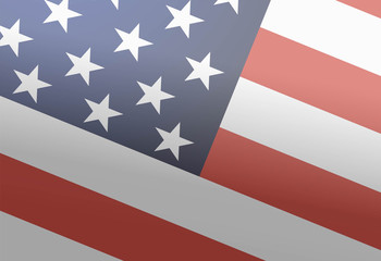 American flag. Background for the Martin Luther King Day. 18th o