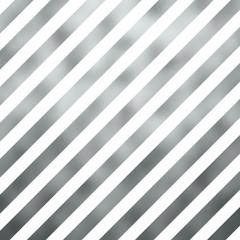 Silver Gray Metallic Grey Foil Diagonal Stripes Background Strip