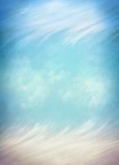 Wispy Clouds and Fog