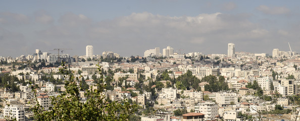 Modern Jerusalem panorama photo