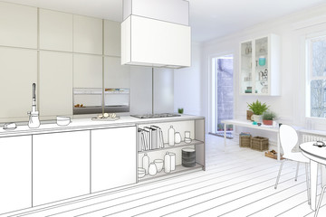 Projectet kitchen (drawing)