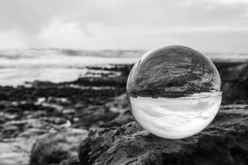 Crystalball at the Sea, Ireland