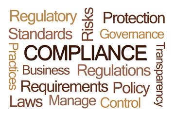 Compliance Word Cloud