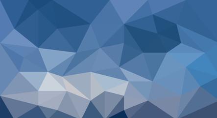 Blue polygonal mosaic texture