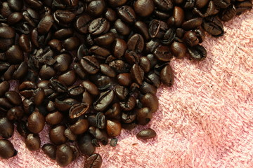 coffee beans, can be used as a background