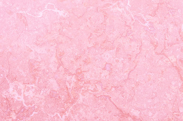 Closeup surface pink marble wall texture background