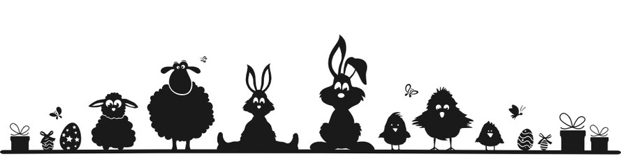 Ostern mit Figuren