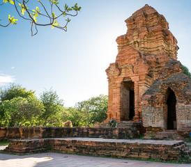 Tempel Pagoden von Poshanu Cham in Vietnam