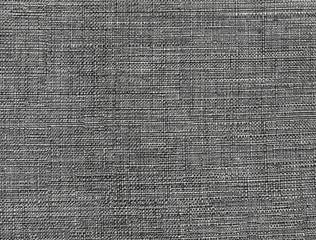 Aluminium Prints Fabric Dark gray fabric pattern, background texture