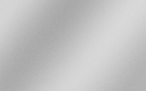 Sfondo alluminio sfumato, acciaio, titanio, argento, lega, superficie metallica spazzolata, sfondo gradiente