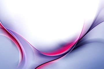 Awesome Abstract Blue Purple Wave Design