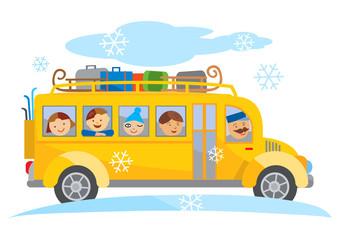 Porn teen de bus scolaire