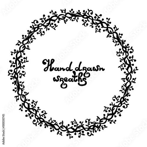 Hand Drawn Decorative Frames Decorative Frames Decorative Doodle