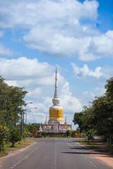 Phrathat Nadoon or Nadoon Stupa in Maha-Sarakham Province   nort