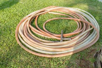 Watering garden hose