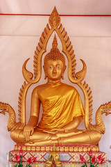 Beautiful golden Buddha.
