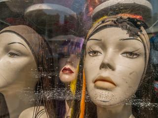 Female Mannequin Heads