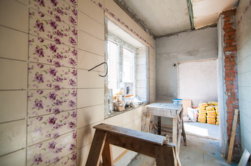 The construction of a new country house