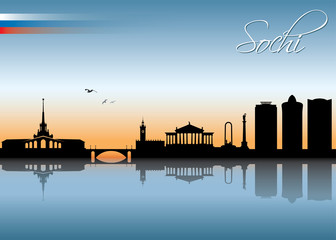 Sochi skyline