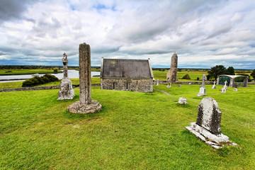 Clonmacnoise - Clonmacnoise is an ancient monastic site near Shannonbridge, County Offaly,Ireland