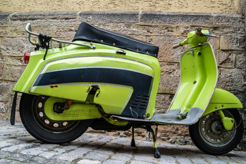 Scooter Altes Mofa