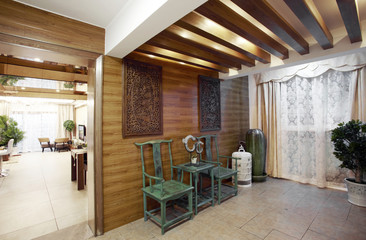 New Chinese style home interior