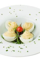Oeufs mayonaise