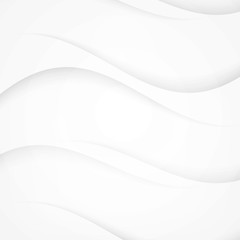 White background curve
