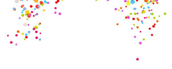 Fasching Konfetti Party Geburtstag Hintergrund Banner
