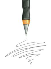 Ball Point Pen Scribble