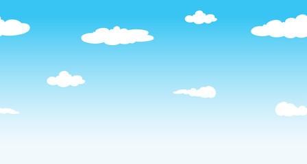 Seamless sky at daytime