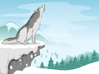 Wolf Snow Mountain