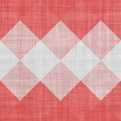Seamless red and white geometric texture