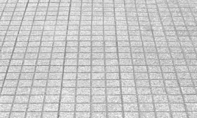 Outdoor stone block floor texture and background