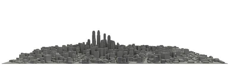 Model of city