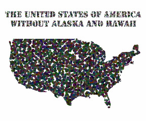 Concept map of USA