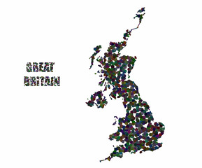 Concept map of Great Britain