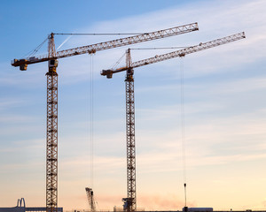 Crane construction.