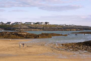 Fotomurales - Anglesey Island, Küstenszenerie bei Trearddur Bay