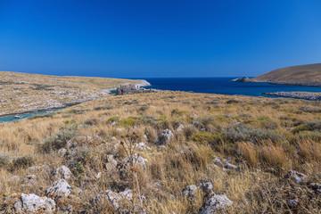Wall Mural - Peloponnes, Kap Tenaro, Porto Sterni, Poseidonheiligtum