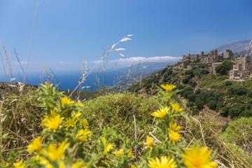 Fotomurales - Peloponnes, Lakonische Mani, Vathia, Westküste